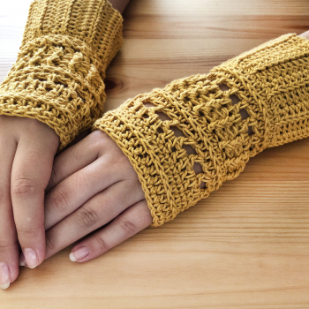 Fingerless Gloves #3 Crochet Pattern