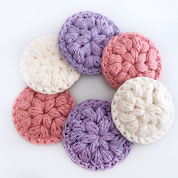 Reusable Face Scrubbies – Free Crochet Pattern