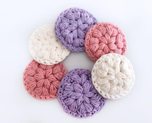 Reusable Face Scrubbies – Free Crochet Pattern