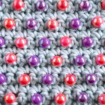 Cómo Tejer a Crochet: utilizando Mostacillas, Cuentas o Abalorios