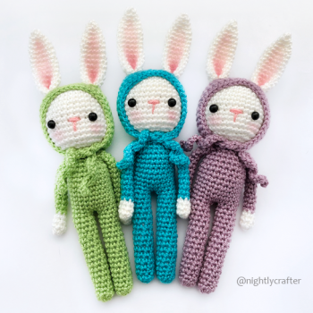 Bunny in Pajamas – Crochet Pattern