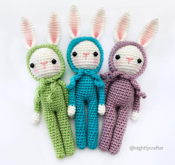 Bunny in Pajamas – Crochet Pattern