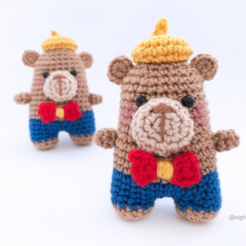 Elliot The Bear – FREE Amigurumi Crochet Pattern