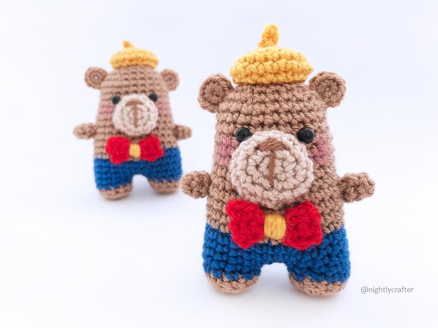 Elliot The Bear – FREE Amigurumi Crochet Pattern