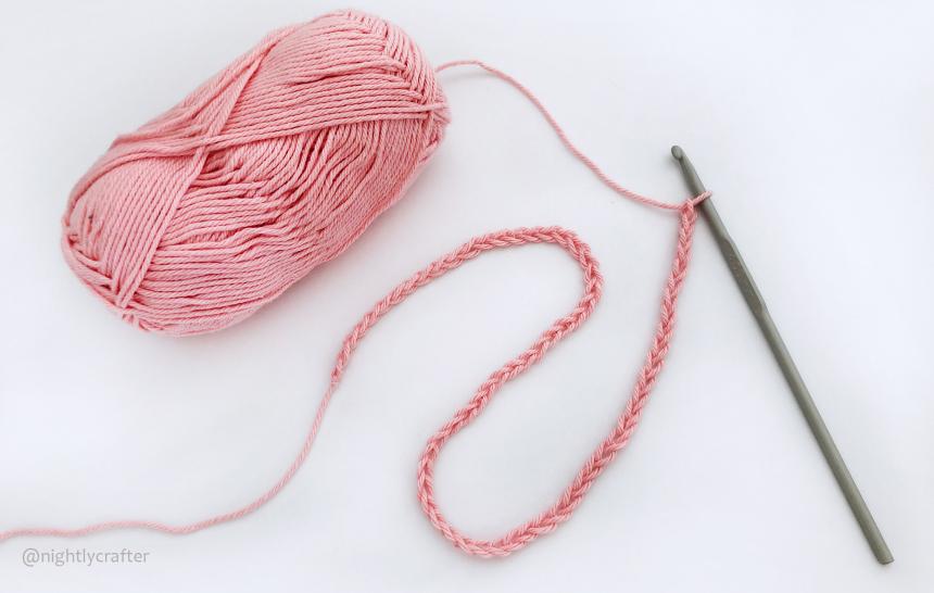 How to Crochet: Chain Stitch