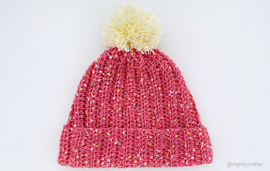 Pink Lady – (Very) Easy Hat – Free Crochet Pattern